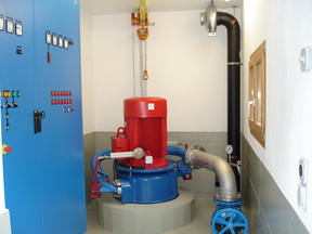 Trinkwasserkraftwerk Runggalina